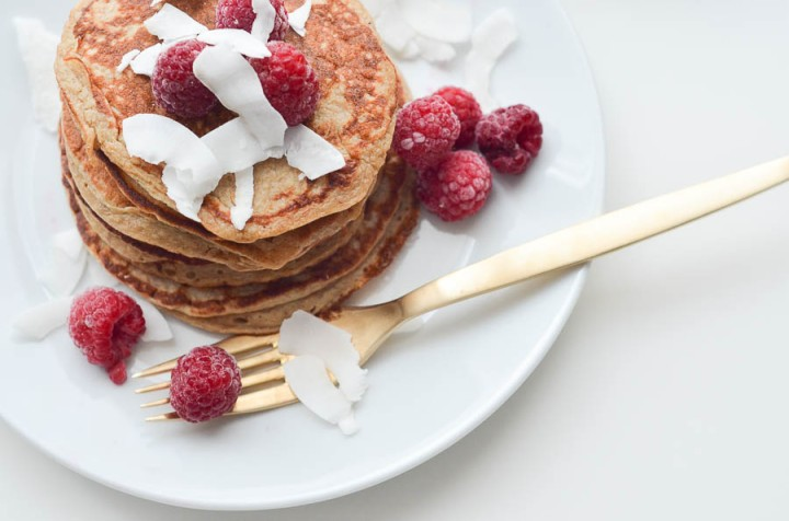 Pancakes healthy aux flocons d'avoine