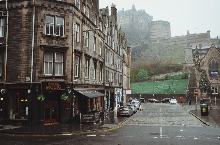 Que faire à Edimbourg (quand ilpleut)?